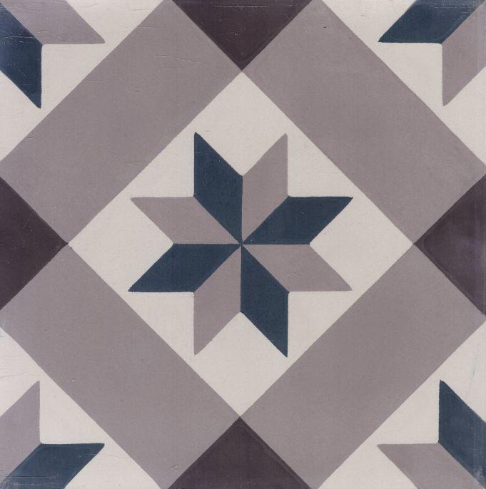 FLOORZ- Portugese tegels blauw