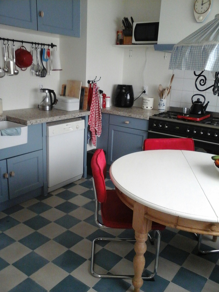 Floorz portugese tegels in effen kleuren in uw keuken   product in ...
