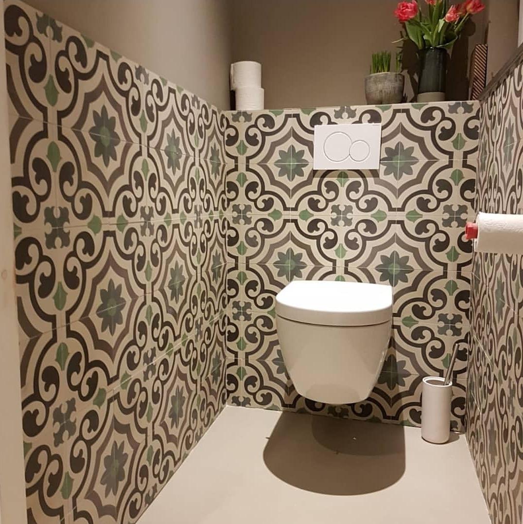 FLOORZ- Portugese tegels toilet