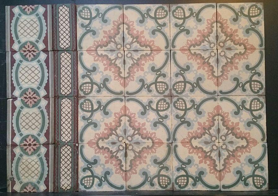FLOORZ- Vloertegels met patroon R20