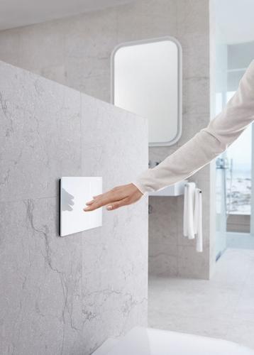 Geberit bedieningsplaat toilet Sigma 70