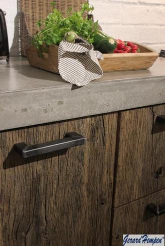 Gerard hempen houten keukens oud eiken hout   product in beeld ...