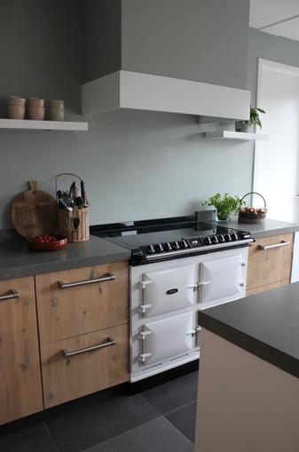 Kraan landelijk keuken - Beeld van eigentijdse keuken ...