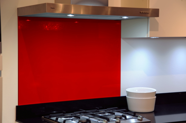 GLAZZ achterwand van glas 900x700 mm