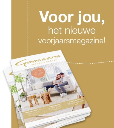 Goossens gratis magazine Wonen & Slapen 2016