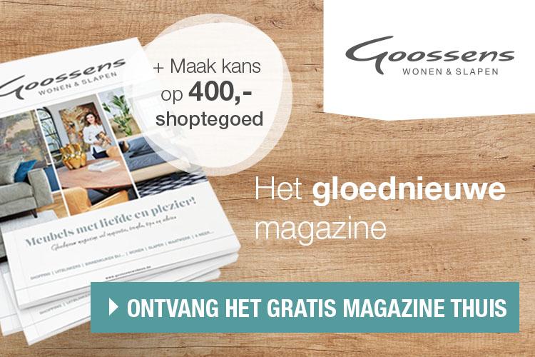 Goossens gratis magazine Wonen & Slapen