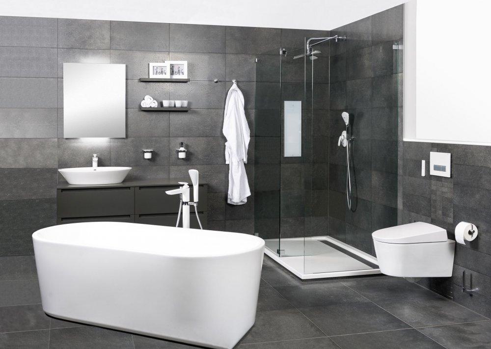 Badkamer Ideeen Zwart Wit : complete badkamer Norma - Product in beeld ...