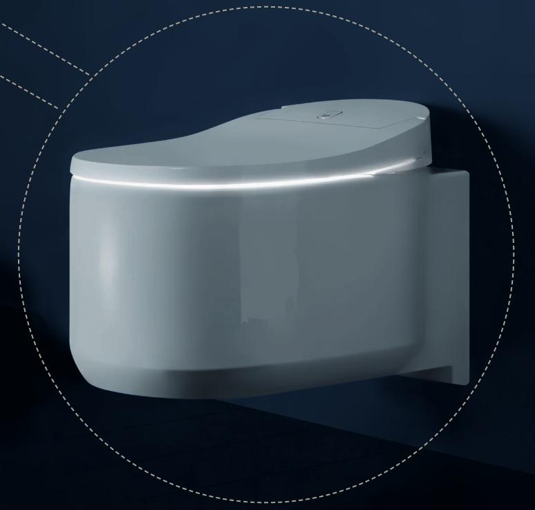 grohe sensia arena douche wc product in beeld startpagina voor badkamer idee n uw. Black Bedroom Furniture Sets. Home Design Ideas