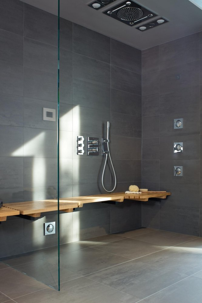 grohe spa f digital deluxe product in beeld. Black Bedroom Furniture Sets. Home Design Ideas