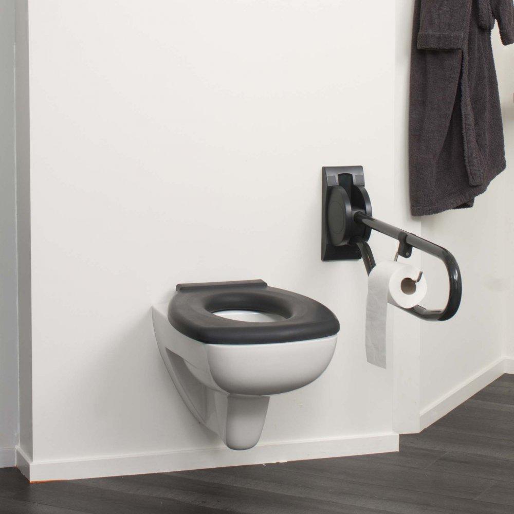 linido aangepaste badkamer in trendy antraciet product in beeld