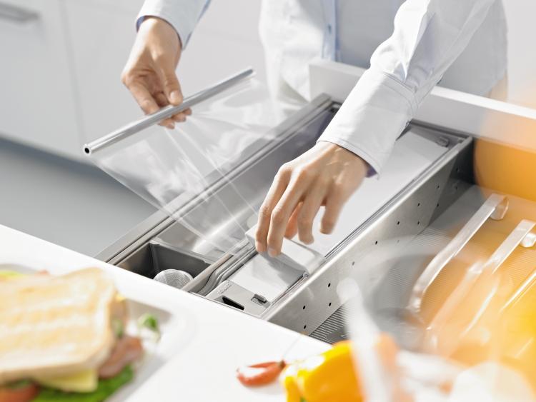 Keukenlade indelingen van ORGALUX