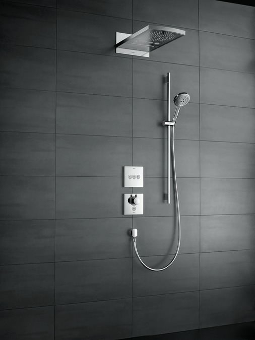 Hansgrohe raindance rainfall hoofddouche product in for Grohe o hansgrohe diferencias