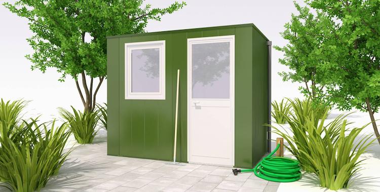 Tuinhuis met modulaire constructie | Hermes Tuinhuizen