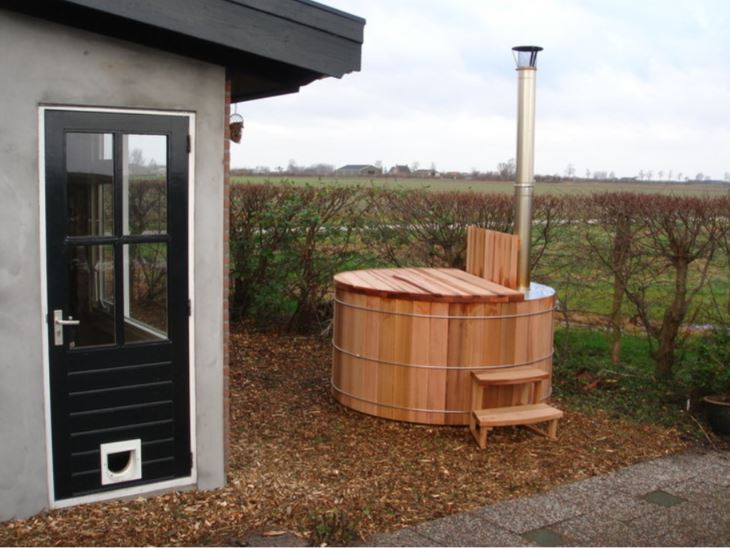 Houten Hottubs Størvatt Red Cedar