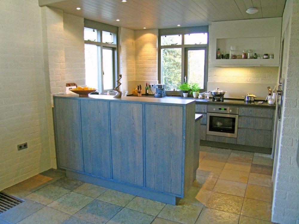 Houten keuken | Atelier de Zonnevlecht