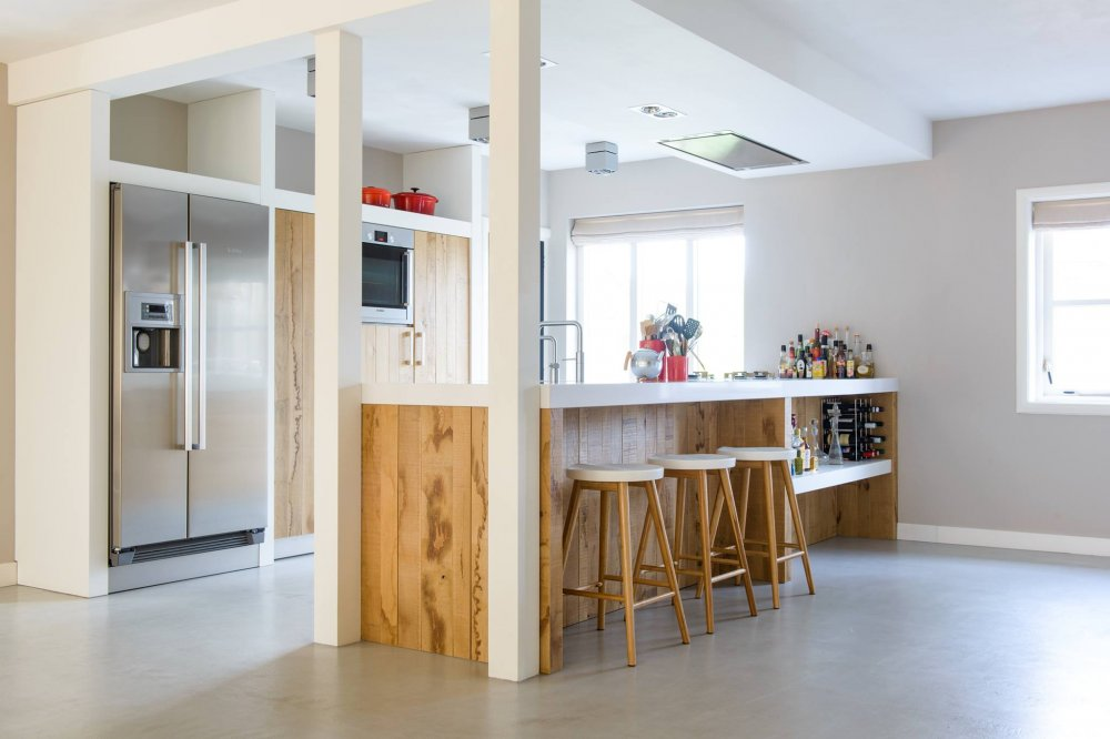 Ruw eiken keuken - maatwerk JP Walker