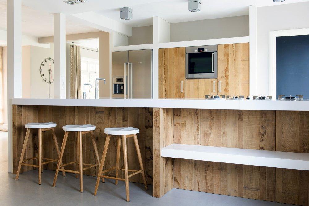 Planken in de keuken perfect keukenlamp keukenplank stoer with