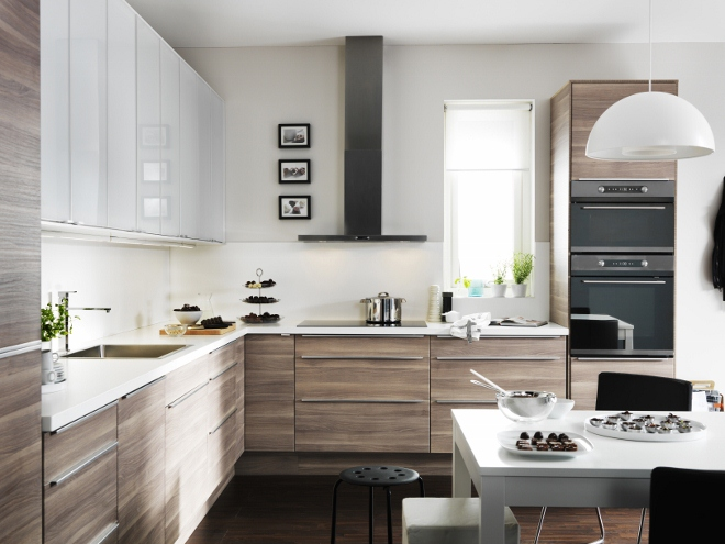 Top Design Keukens : IKEA Walnut Kitchen Cabinets