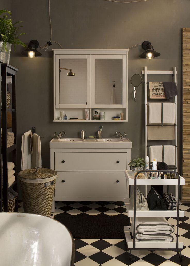 Ikea spiegelkast HEMNES