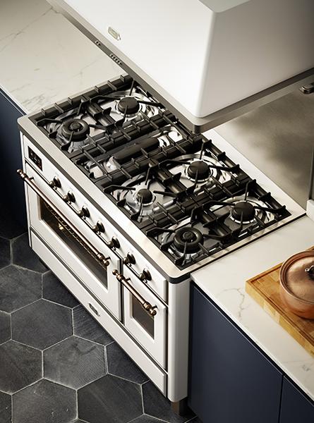 Fornuis met aanpasbare kookplaat | ILVE