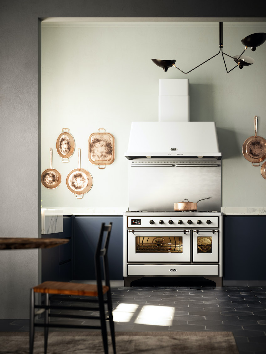 ILVE Majestic Next Generation - The invaluable range cooker that makes the kitchen unique.