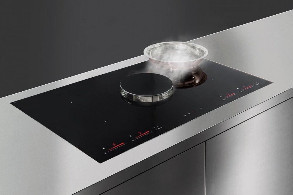 Inductie kookplaat met kookafzuiging HIKA EMOTION
