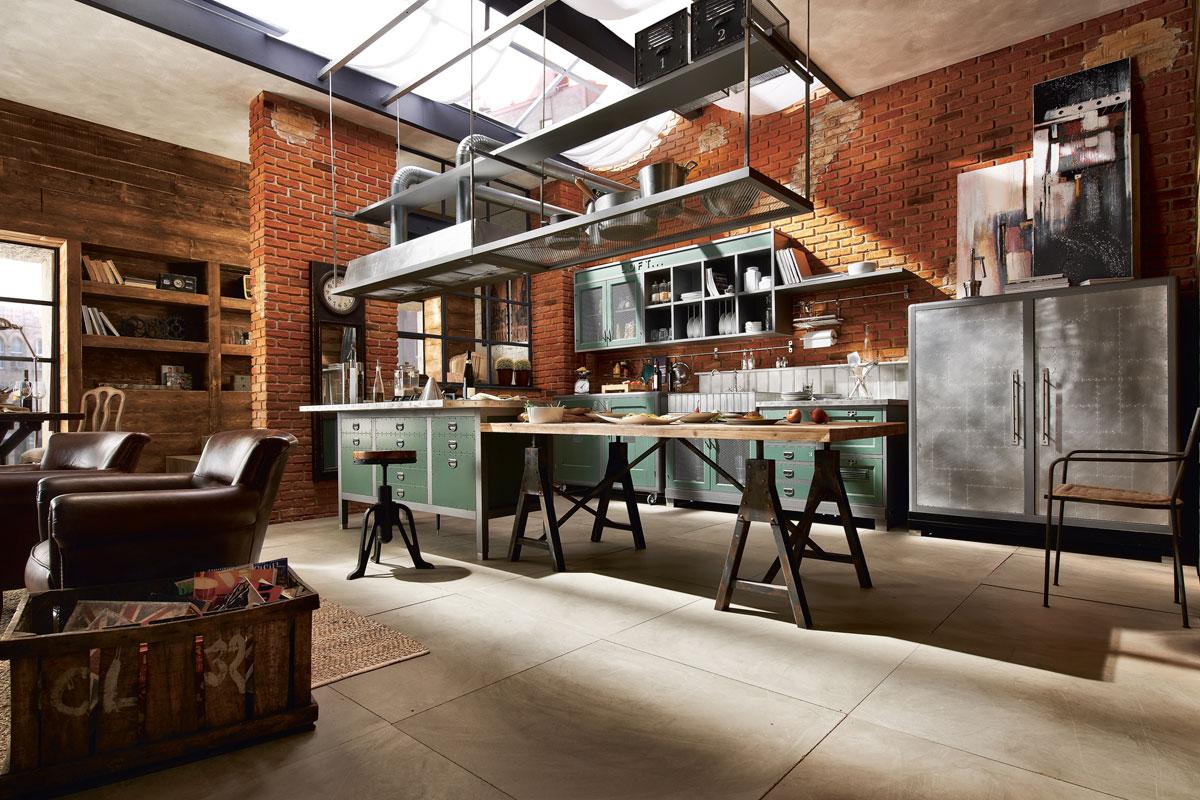 Industriële keuken van Tieleman keukens