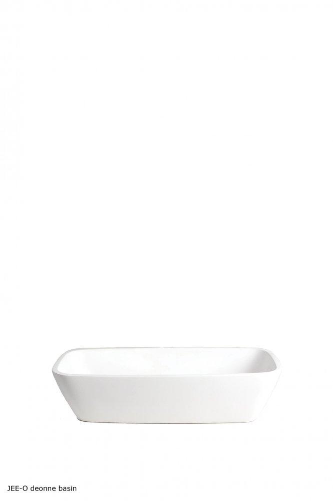 Jeeo deonne basin vrijstaande opbouw wastafel product in beeld startpa regendouche zuil - Badkamers bassin italiaanse design ...