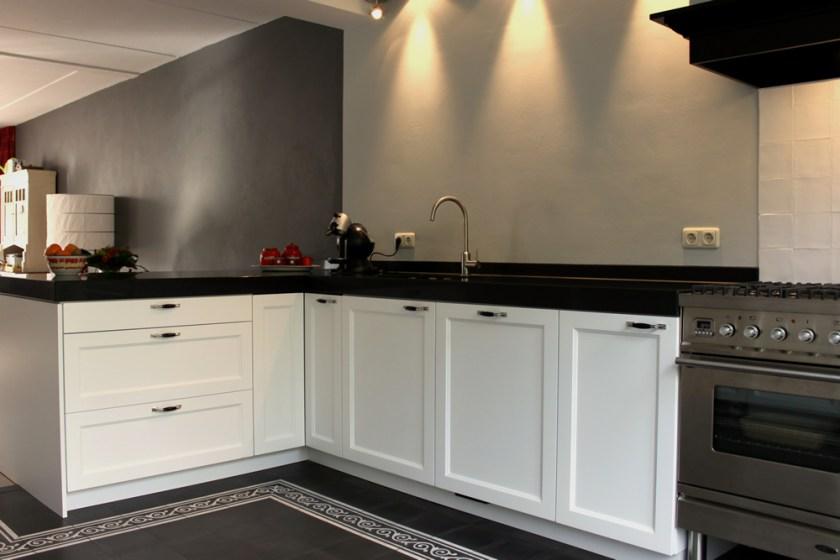 Jp walker klassieke keuken met moderne touch product in beeld startpagina voor keuken idee n - Witte keuken en hout ...