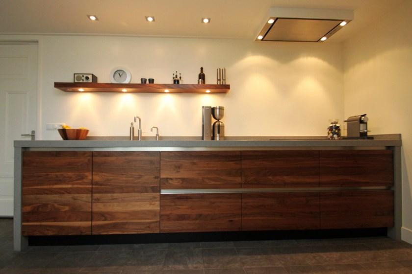 Jp walker moderne houten keuken van amerikaans noten   product in ...