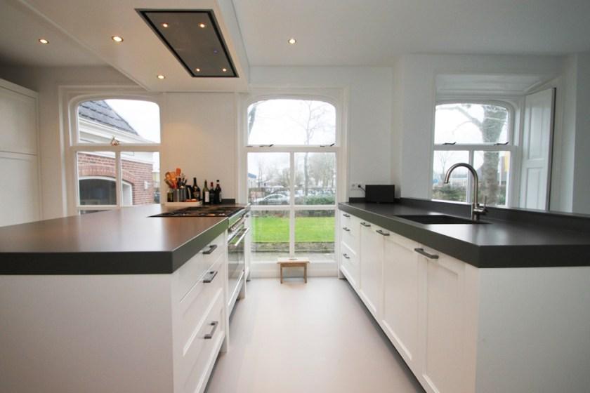 Jp walker witte klassieke houten keuken uw woonidee - Witte keukens houten ...