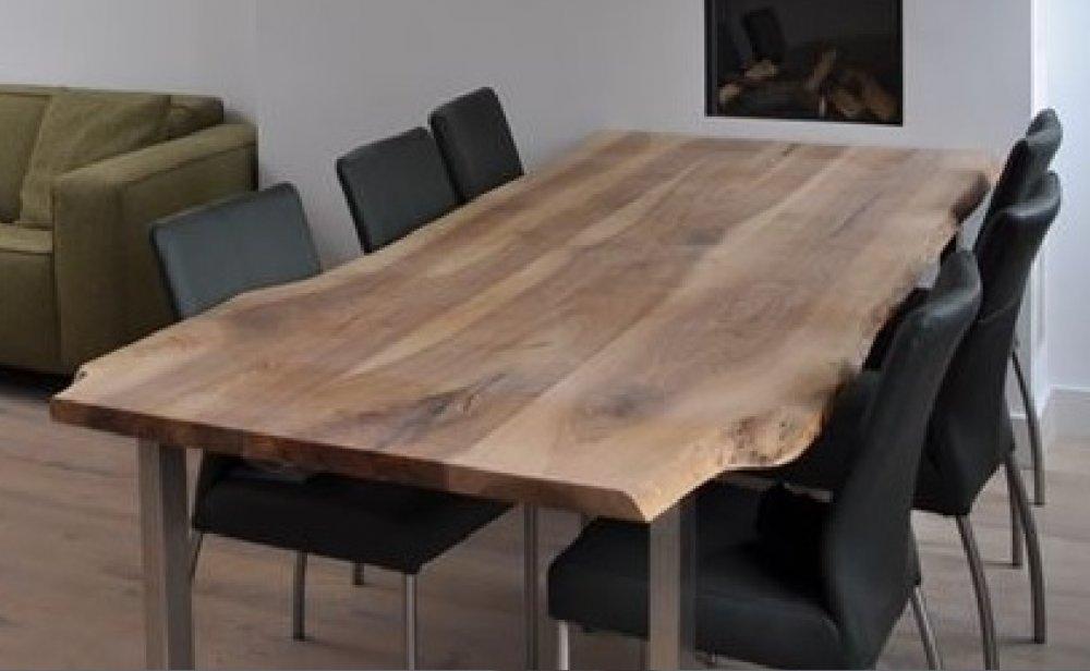 Kabana design houten tafels product in beeld for Hout voor tafel