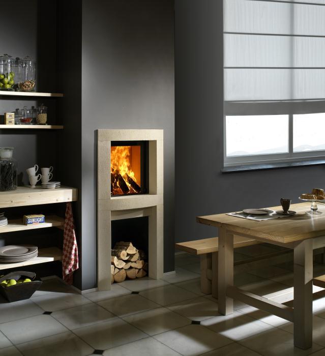 Kal-fire Heat Pure 45 gesloten houthaard