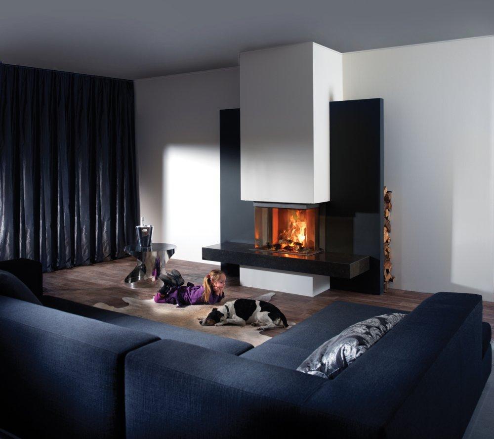 Kal Fire Heat Pure 65 3 Zijdig Gesloten Houthaard