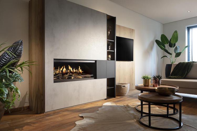 Elektrische designhaard E-one 100F | Kalfire