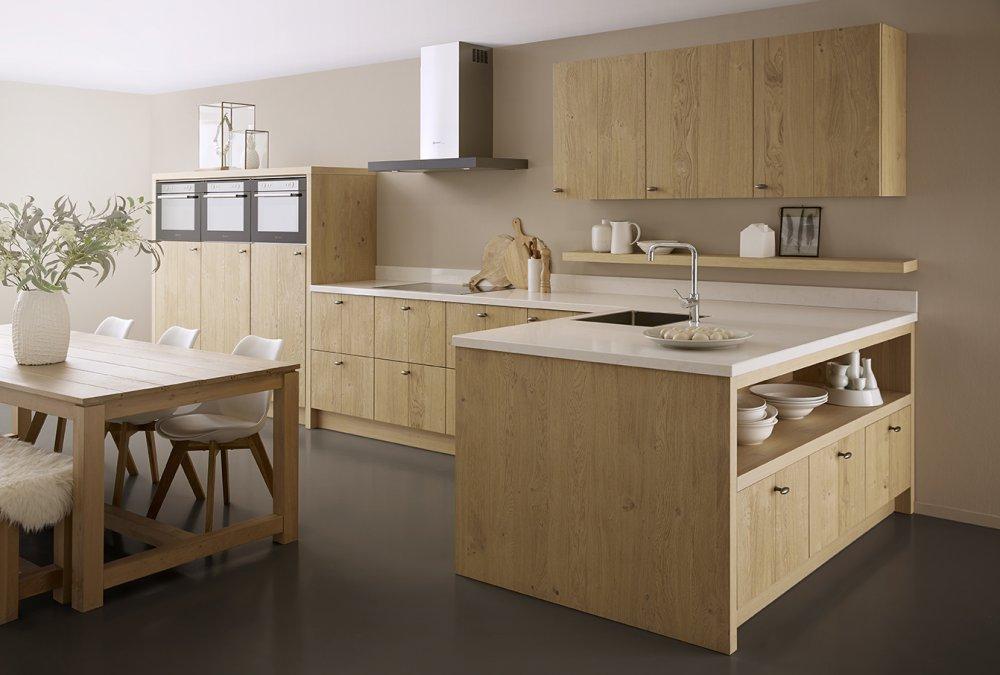 Houten keukens van keller product in beeld startpagina voor