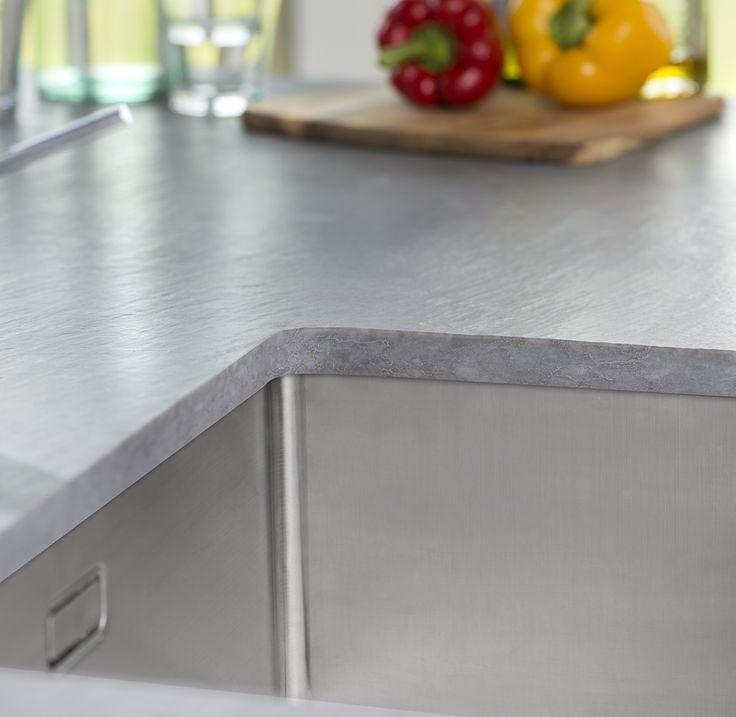Kemie cosmostone betonna werkblad betonlook product in beeld startpagina voor keuken idee n - Prijs kwarts werkblad ...