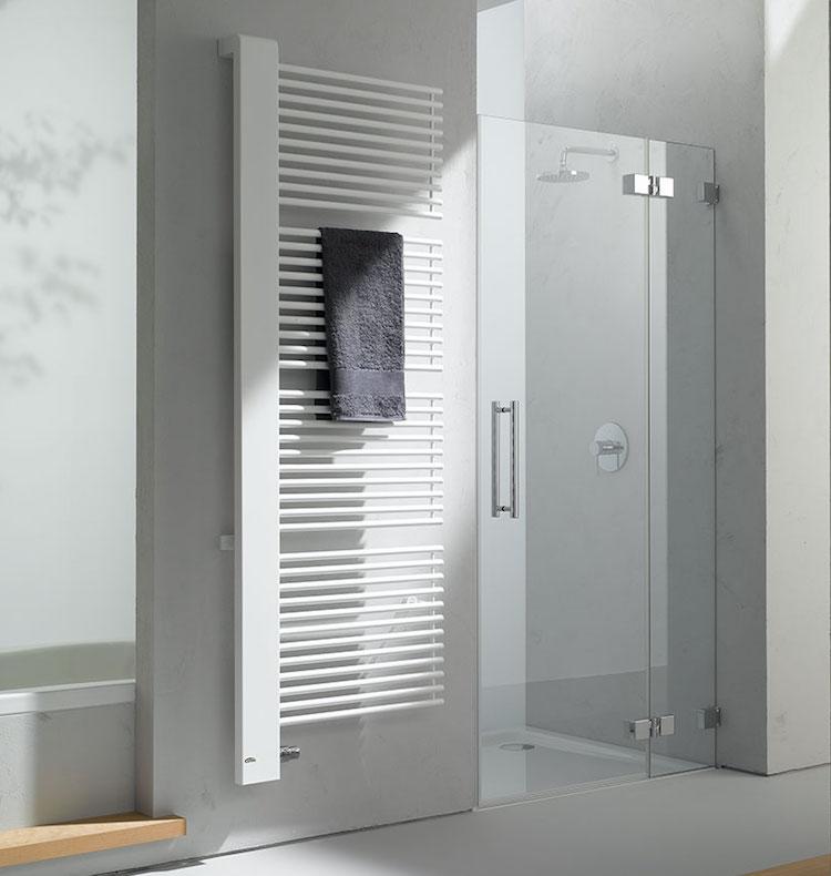 Kermi Credo Half designradiator voor een trendy badkamer
