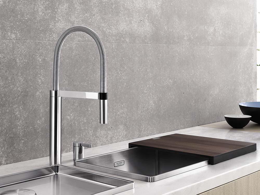 blancoculina s duo keukenkraan product in beeld startpagina voor keuken idee n uw. Black Bedroom Furniture Sets. Home Design Ideas