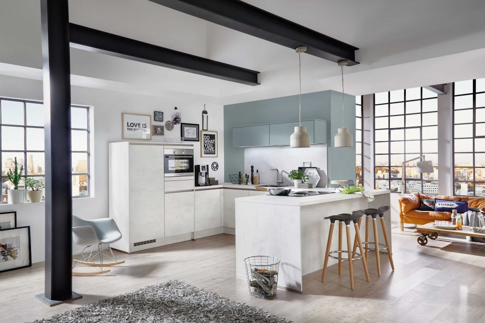 Keukens met U-vorm