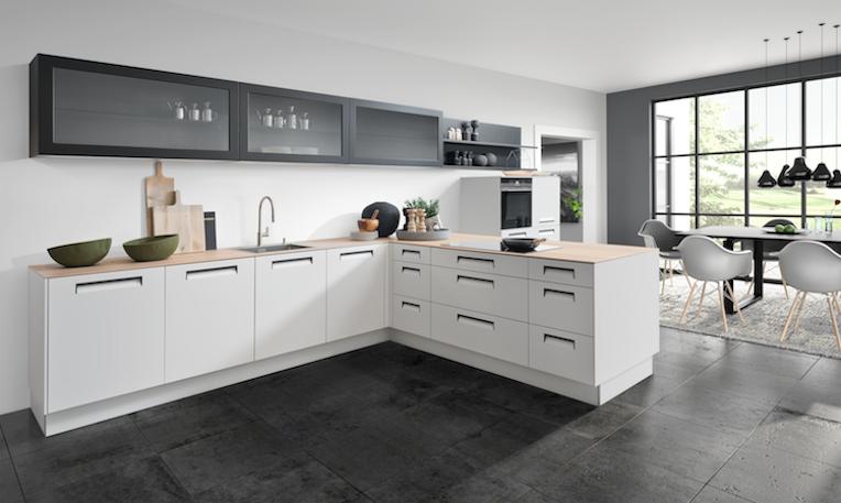 Moderne Witte Keukens : Moderne witte keuken product in beeld startpagina voor keuken