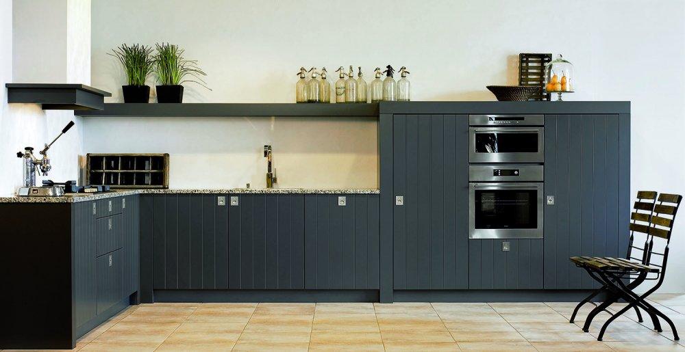 Eksclusive keuken zwart product in beeld startpagina voor keuken idee n - Deco keuken oud land ...