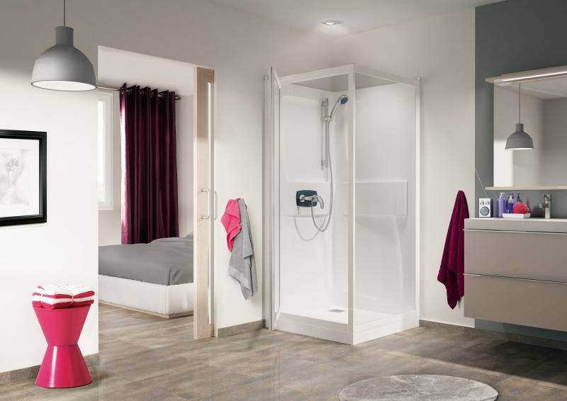 Kinedo douchecabine kineprime product in beeld startpagina voor badkamer idee n uw - Douche italiaanse foto ...