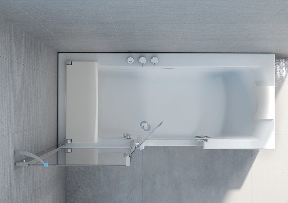 Kinedo® Kineduo bad en douche combinatie - Product in beeld ...