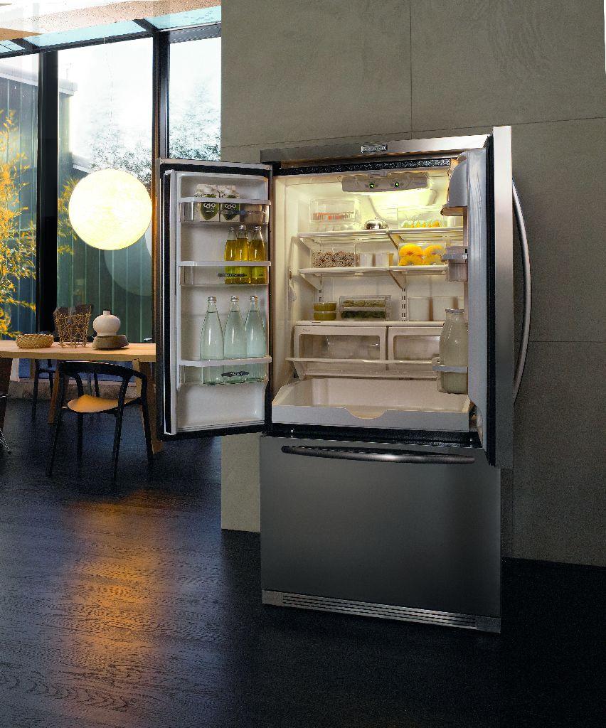 KitchenAid Amerikaanse 3-deurs koelkast