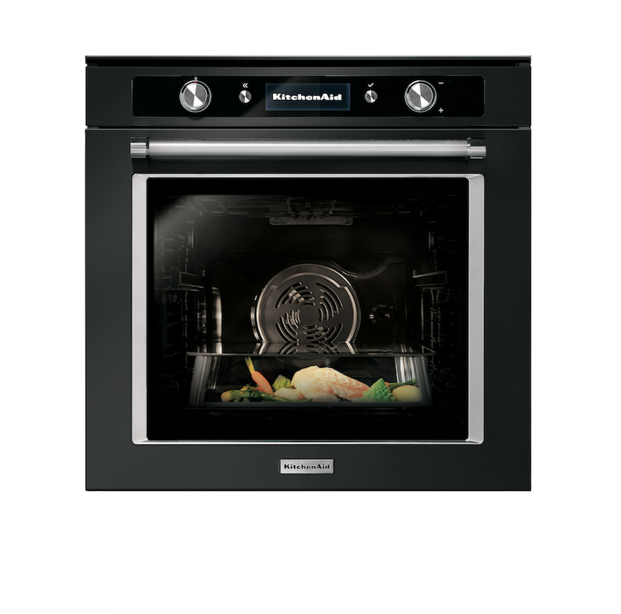 KitchenAid Twelix oven black steel