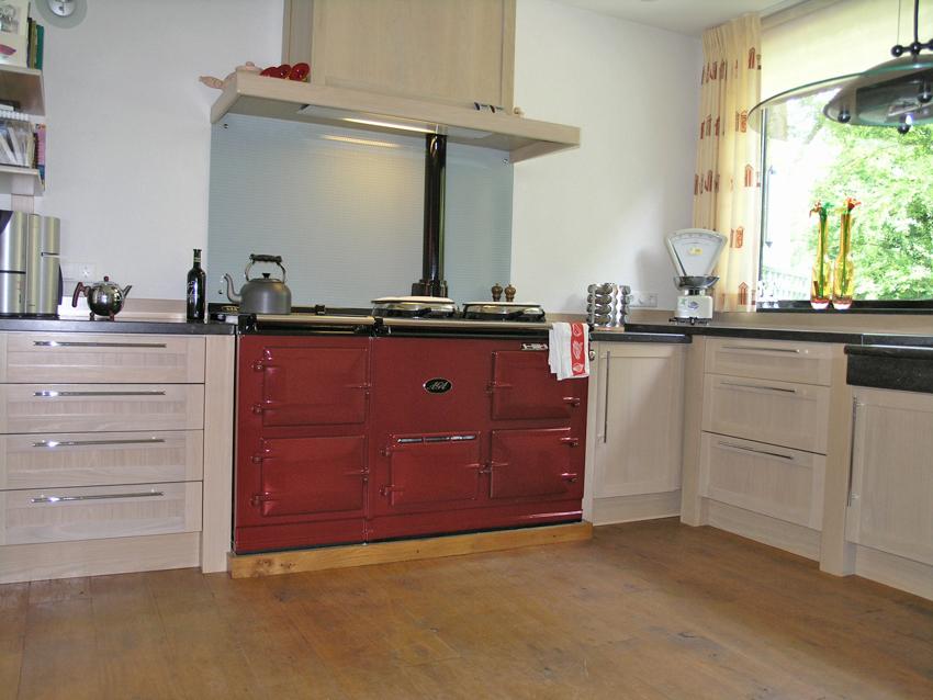 Klassieke eiken handgemaakte keuken