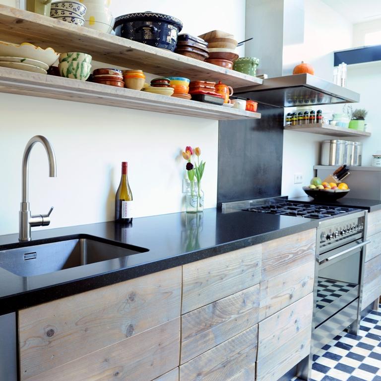 Planken Voor In De Keuken.Houten Plank Keuken Ua44 Belbin Info