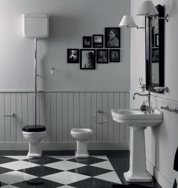 Klassieke toiletten en bidets | Klassiek Sanitair