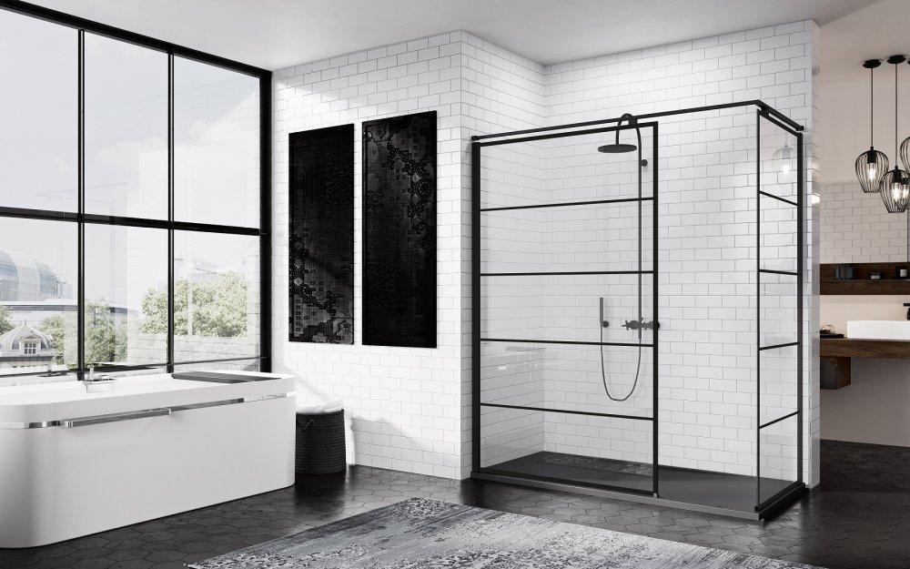 Spiegel Zwart Metaal : Badkamer spiegel zwart metaal view spiegel zwart nordic blends